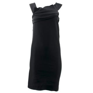 Lanvin Black Embellished Dress