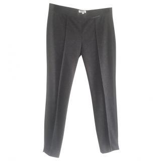 Nicole Farhi Charcoal Grey Wool Trousers