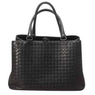 Bottega Veneta black Milano bag