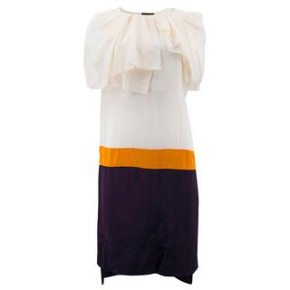 Vionnet Multi- coloured Silk Shift Dress