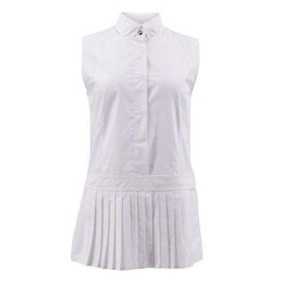Alexander Wang White Cotton Sleeveless Top