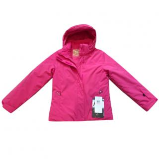 Spyder girls pink ski jacket, new with tags