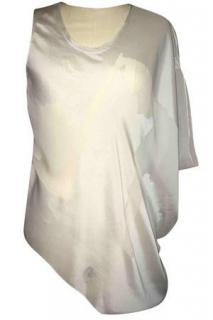Helmut Lang Sheer Asymmetric Top
