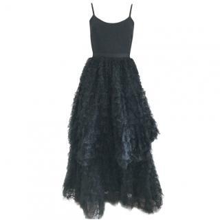 Alice Olivia black gown