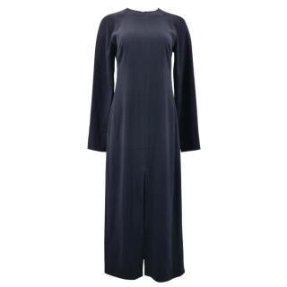 Raey Navy Long Dress