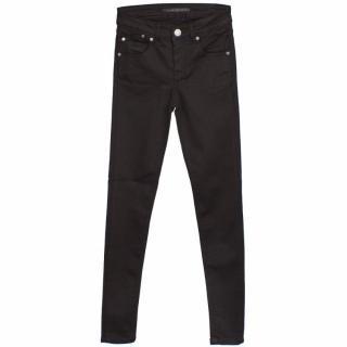 Victoria Beckham Black Pearl Super Skinny Jeans