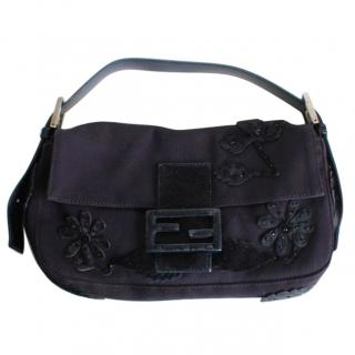 Fendi Silk Baguette Bag