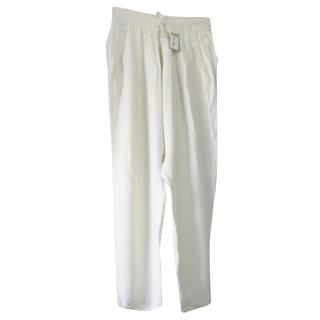Sandro Dropped Crotch Trousers