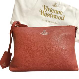 Vivienne Westwood Red leather bag