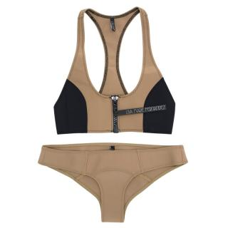 Lisa Marie Fernandez Khaki Bikini