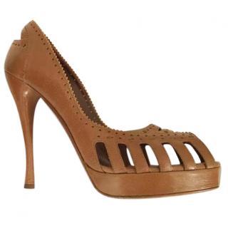 Tabitha Simmons - open toe pump