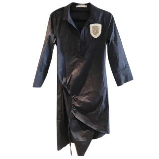 Christian Dior badge shirt dress