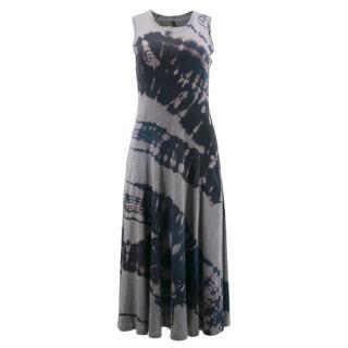 Raquel Allegra Midnight Wave Midi Dress