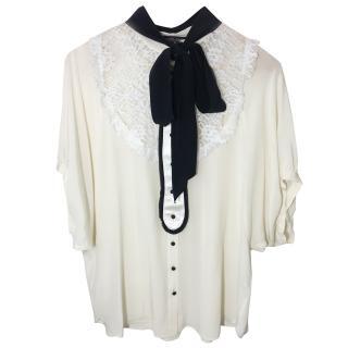 Dolce & Gabbana Silk Blend Blouse.