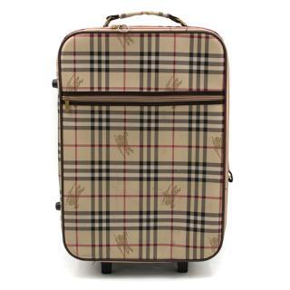 Burberry Haymarket Check Suitcase