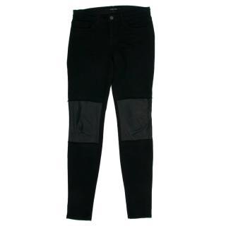 J Brand Vicious Black Skinny Jeans