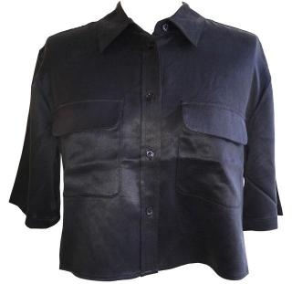 Equiment Cropped Shirt