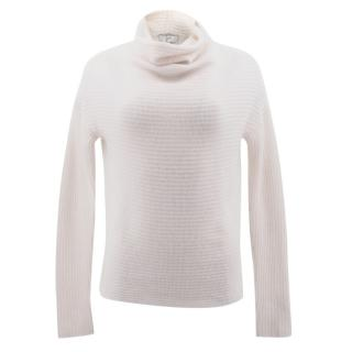 Joie Cream Cashmere Turtle Neck Jumper