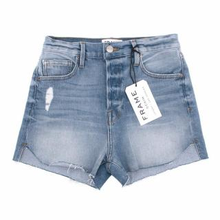Frame Denim High Waisted Shorts