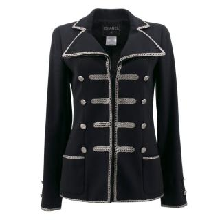 Chanel Rope Trim Military Jacket