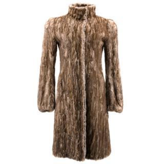 Prada Brown Mink Coat