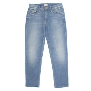 Mother The Dropout Fray Jeans