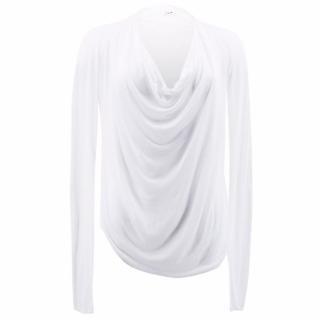 Helmut Lang White Long Sleeved Top