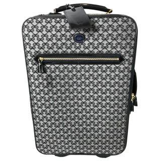 Anya Hindmarch Lattice Print Suitcase