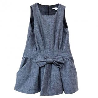 Chloe girls grey pinafore dress age 2