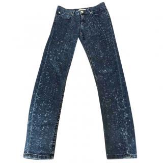 Sandro blue jeans