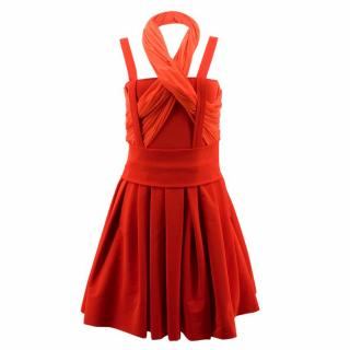 Preen by Thornton Bregazzi Red Bridget Dress