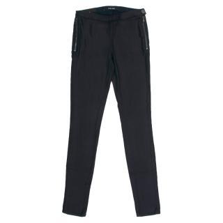 J Brand Kira Mid Rise Zip Super Skinny Jeans