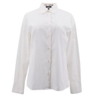 Burberry White Cotton Shirt