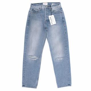Frame Denim Rigid Re- Release Le Original Cotton Jeans
