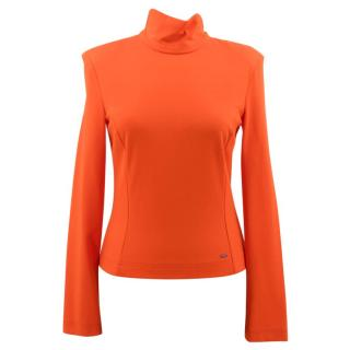 Altuzarra Orange Turtle Neck Jumper