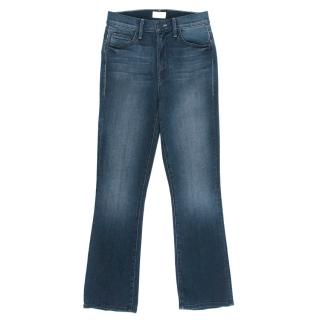 Mother The Insider Crop Repeating Love Jeans
