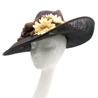 Herald and Heart Brown Hat