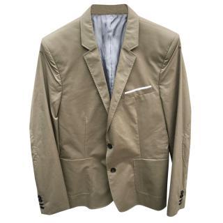 The Kooples Sport Beige Cotton Blazer/Jacket