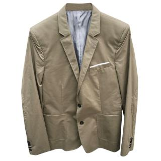 The Kooples Sport Beige Cotton Blazer/Jacket