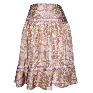 See by Chloe silk skirt