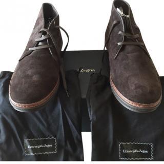 Ermenegildo Zegna Mens Ankle Boots
