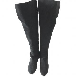 Giuseppe Zanotti Long Flat Rear Zip Boots