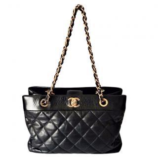 Chanel Calfskin Soft Elegance Large Tote Bag