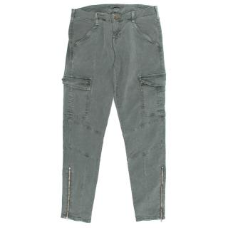 J Brand Mid Rise Houlihan Cargo Jeans