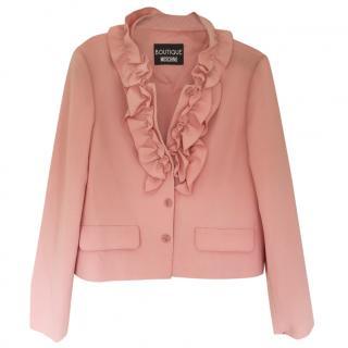 Moschino Pink Ruffle Jacket