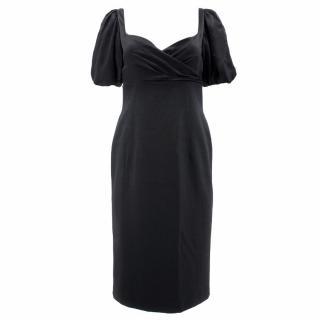 Moschino Black Wool Dress