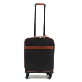 Mulberry Black & Cognac Scotchgrain Trolley