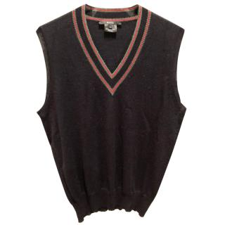 Gucci sleaveless knitwear