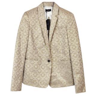 Joseph jacquard gold jacket