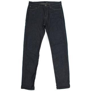 The Kooples Dark Blue Wash Regular Fit Jeans